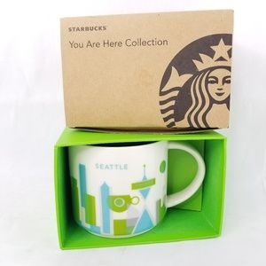Starbucks You Are Here Seattle Mug New